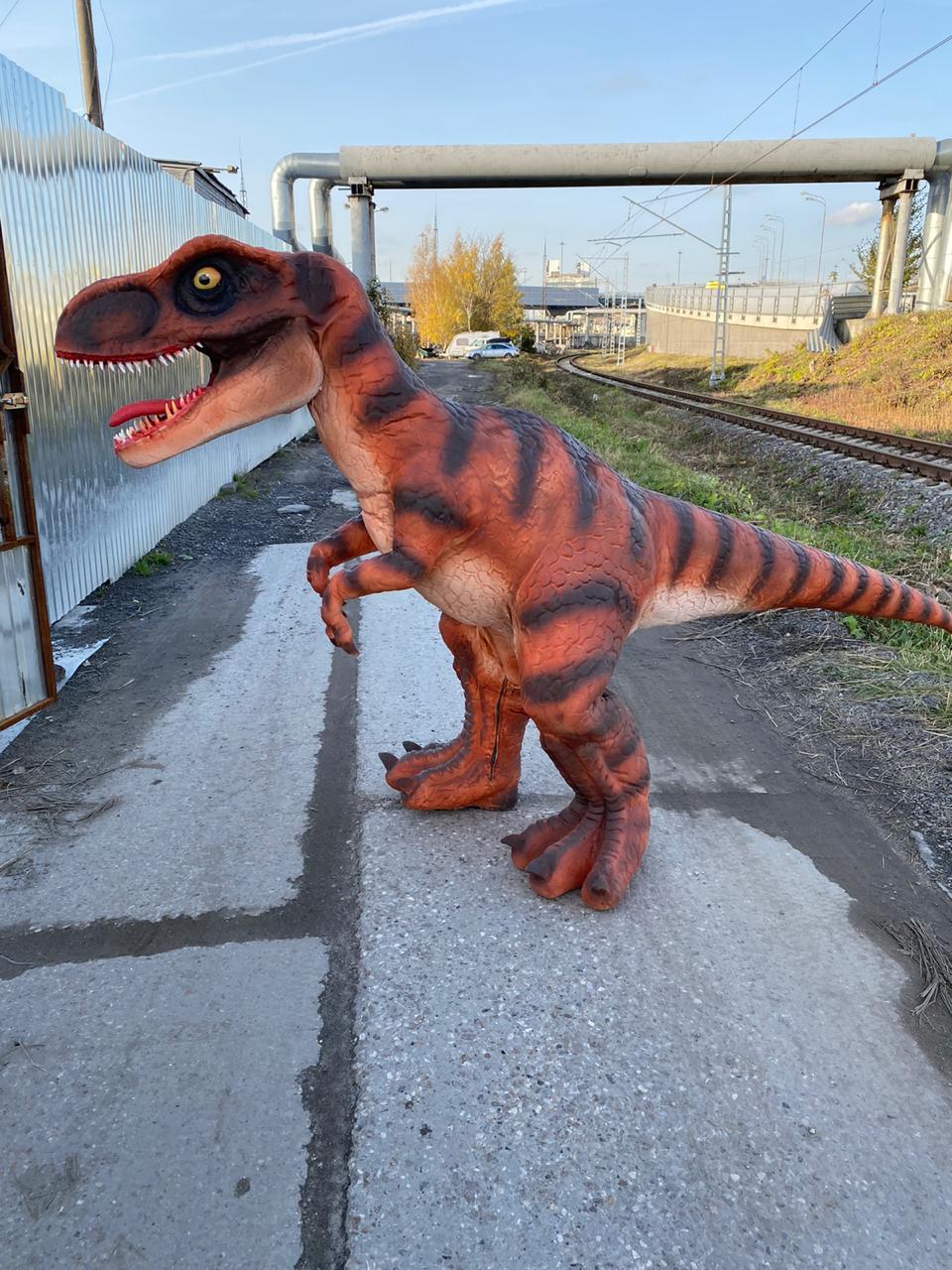 Механические динозавры со звуком